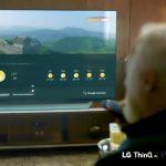 دستیار گوگل به کنترل تلویزیون ال جی فرمان میدهد