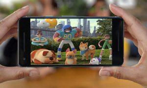 اپلیکیشن بازی گوگل با استیکرهای واقعیت مجازی
