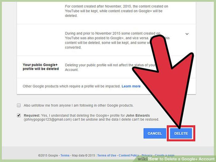 چگونه اکانت +Google را حذف کنیم؟