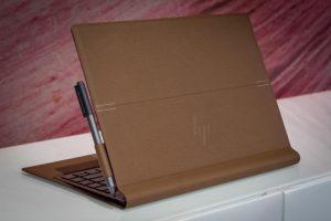لپ تاپ جذاب HP در پوششی از چرم رونمایی شد
