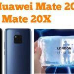 تصاویر جدید Mate 20X هوآوی با چه ویژگی هایی وارد بازار فروش می شود