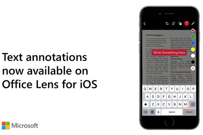 افزونه های جدید برنامه Office Lens