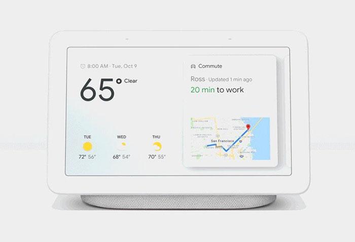 گوگل هوم هاب به صورت رسمی رونمایی شد