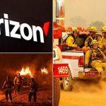 خدمات اختصاصی ورایزون برای آتش نشانان