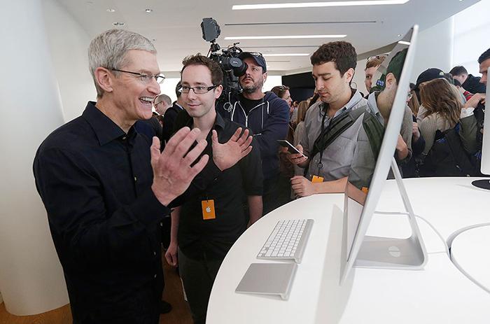 آیا مانیتور جدید شرکت اپل لو رفت؟؟