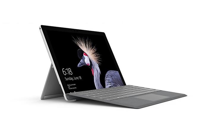 بهترین لپ تاپ های 2018 ، لپ تاپ Microsoft Surface pro