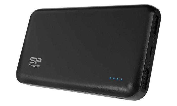 شارژر همراه سیلیکون پاور مدل S150 با ظرفیت 15000 میلی آمپر ساعت