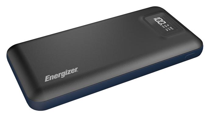 معرفی پاوربانک انرجایزر مدل PS20000 با ظرفیت ظرفیت 20000 میلی آمپر