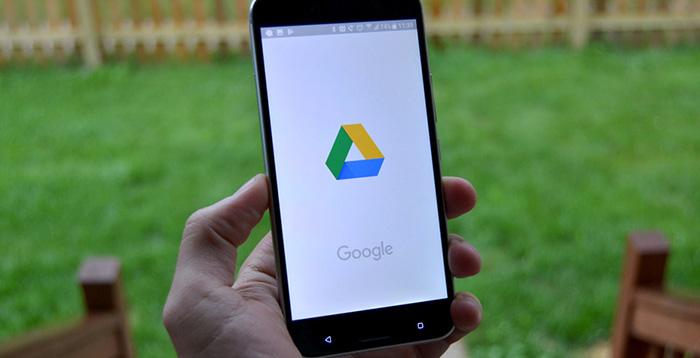 از گوگل درایو، به صورت دستی بک آپ بگیرید