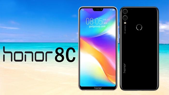 مشخصات فنی گوشی honor 8C