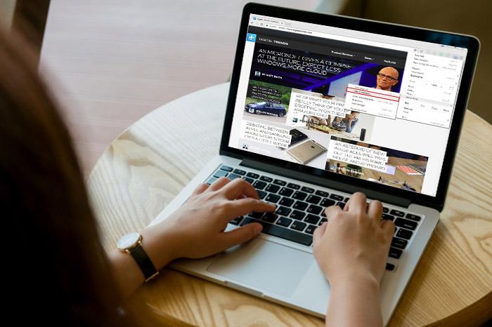 پین کردن وبسایت در نوار وظیفه چگونه انجام می گیرد؟