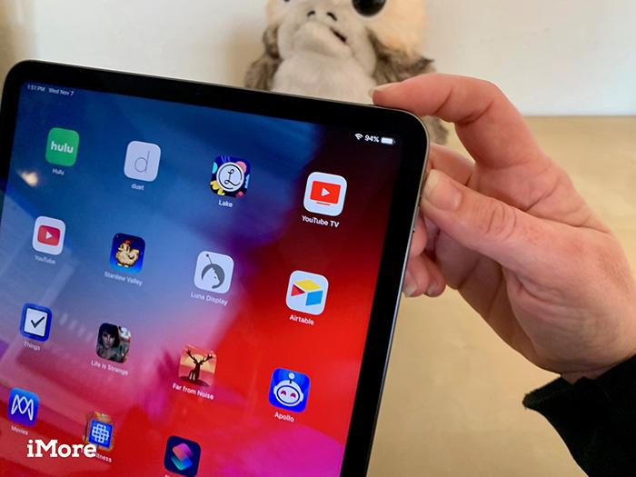 چگونه در iPad Pro جدید اسکرین شات بگیریم؟