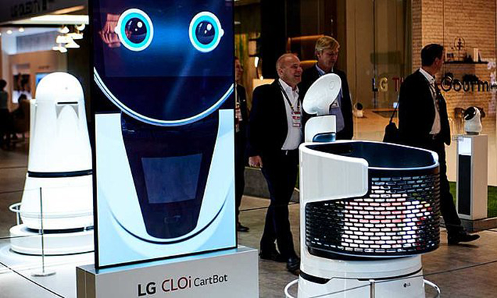 ال جی سبدهای خرید روباتیک را به کره جنوبی می آورد
