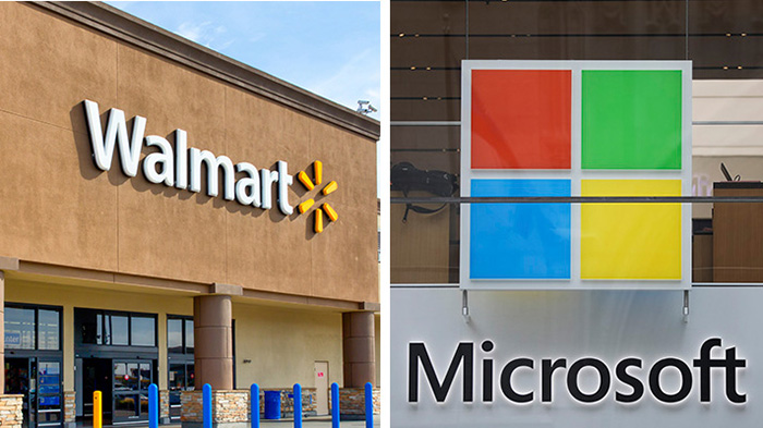 همکاری مایکروسافت و والمارت در بخش فضای ابری
