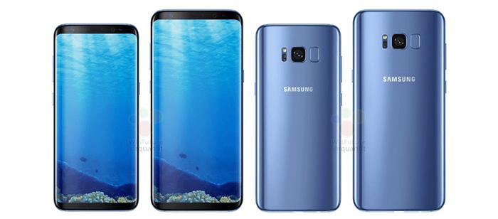 گوشی های سری اس سامسونگ - گوشی Galaxy S8 and S8 Plus (2017)