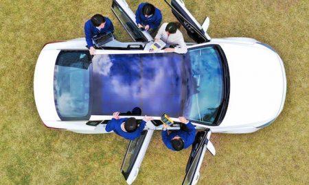 خودروهای کیا و هیوندای مجهز به پنل خورشیدی می شوند