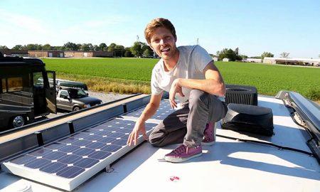 وقتی اتوبوس مدرسه تبدیل به خانه خورشیدی می شود!