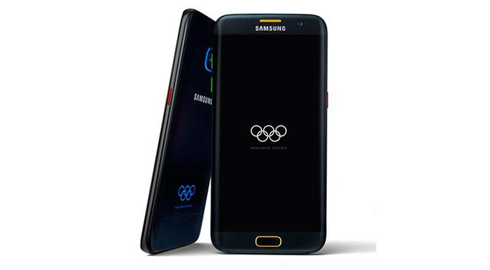 عجیب و غریب ترین نام گوشی گوشی Samsung Galaxy S7 Edge Olympic Games Limited Edition