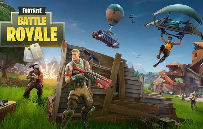 بهترین بازی های اندروید و iOS  بازی Fortnite