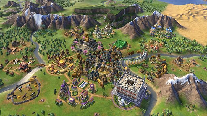 بهترین بازی های اندروید و iOS بازی Civilization VI