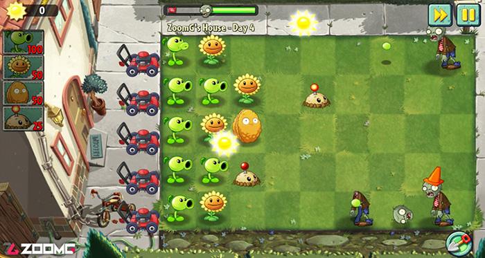 بهترین بازی های اندروید و iOS بازی Plants vs. Zombies 2