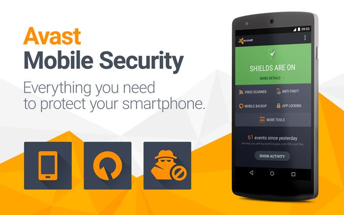 آنتی ویروس Avast Mobile Security 2019