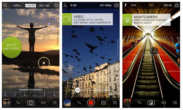 بهترین اپلیکیشن ادیت عکس آیفون، اپلیکیشن ProCamera