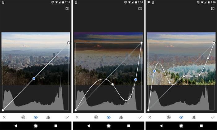 بهترین اپلیکیشن ادیت عکس آیفون ، اپلیکیشن snapseed