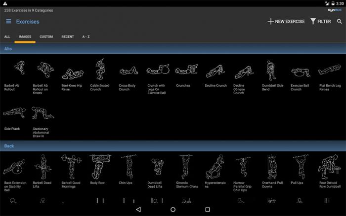 دانلود نرم افزار GymACE Pro: Workout & Body Log