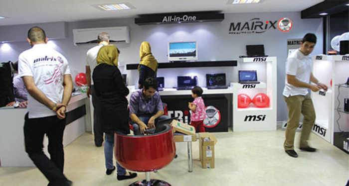 شرکت ماتریس و حضور قدرتمند محصولات ام اس آی در بازار ایران