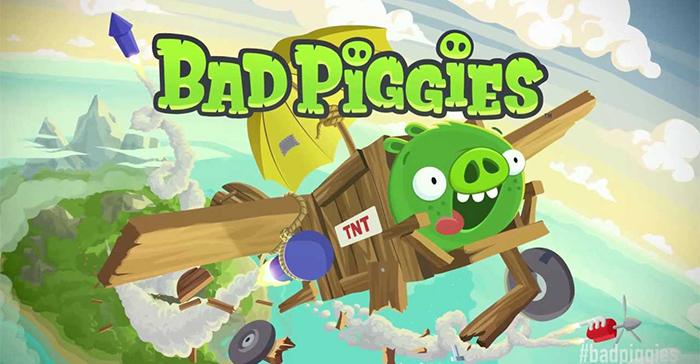 بهترین بازی های اندروید - بازی Bad Piggies