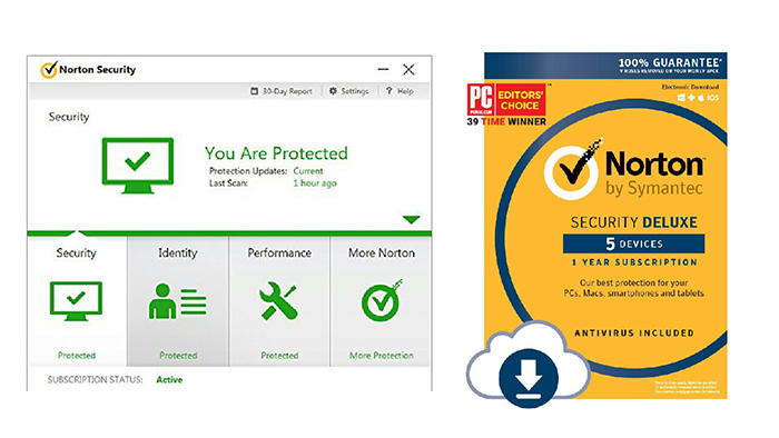 بهترین آنتی ویروس Norton Security Deluxe 2018