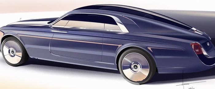 گرانقیمت ترین ماشین های دنیا خودرو رولز رویس Sweptail
