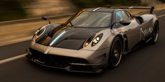 گرانقیمت ترین ماشین های دنیا خودرو پاگانی Huayra BC