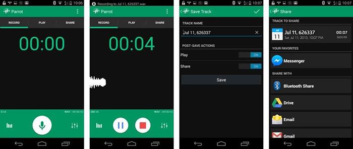 دانلود نرم افزار ضبط صدای یاد شده ویژگی های بسیار جالبی دارد