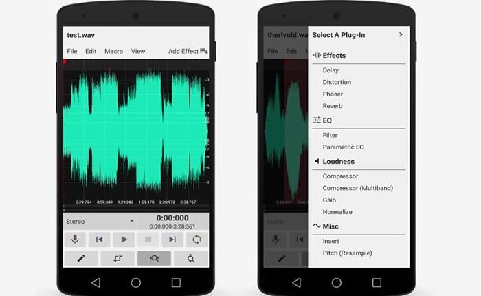 دانلود نرم افزار  ضبط صدا WavStudio™ Audio Recorder & Editor