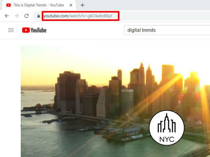 ویدئوهای یوتیوب کپی کردن لینک ویدئو از سایت یوتیوب