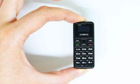 کوچک ترین گوشی چینی با ابعادی بزرگتر از یک سکه!