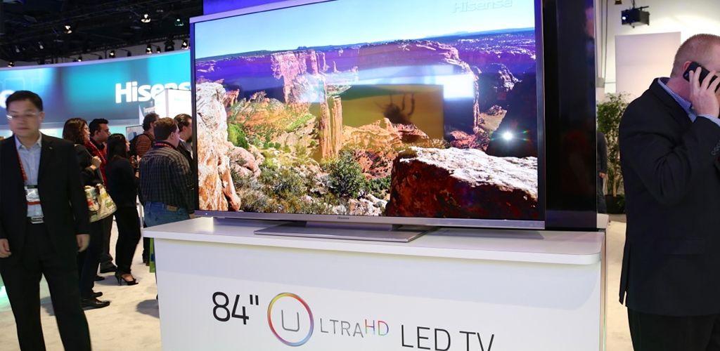 بزرگترین تلویزیون های دنیا