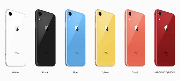 فروش گوشی های iPhone XR