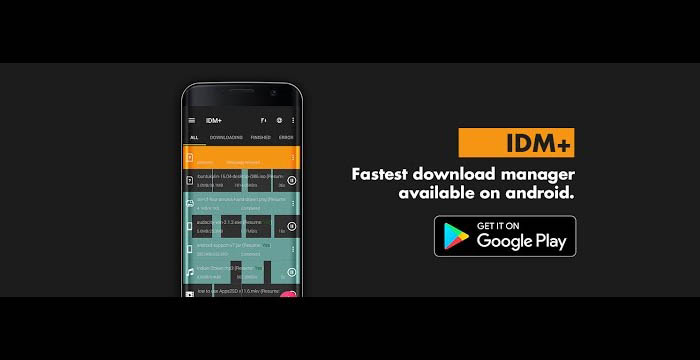 نرم افزار سرعت دانلود  IDM+: Fastest download manager