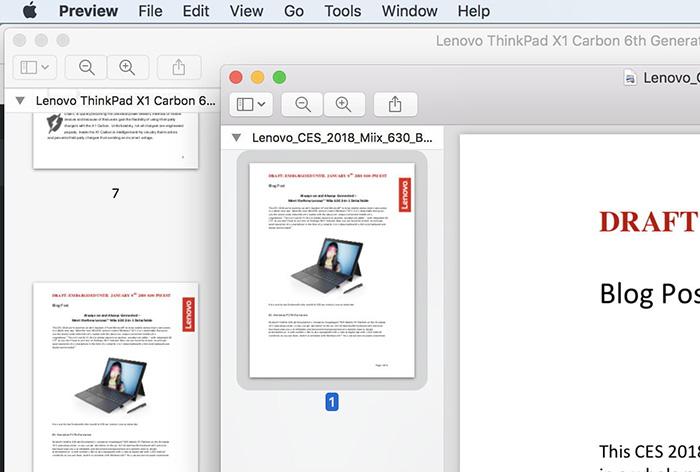 فایل های PDF در سیستم عامل مک
