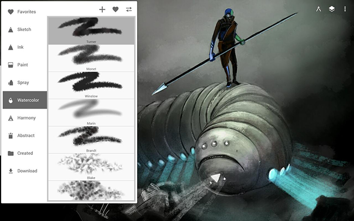 دانلود اپلیکیشن ویرایش تصاویر نرم افزار Infinite Painter