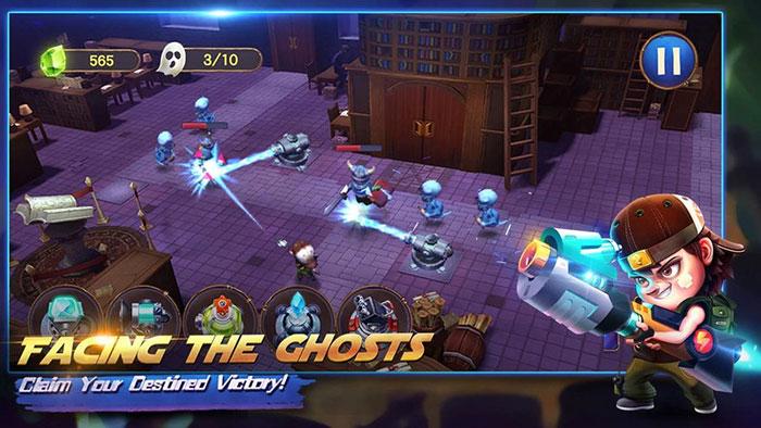 بازی های جدید و جذاب Ghost Town Defense
