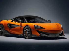جدیدترین خودروی مک لارن 600LT Spider ، بهترین خودروی سری اسپورت