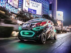 خودروی مفهومی مرسدس بنز Vision Urbanetic رونمایی شد