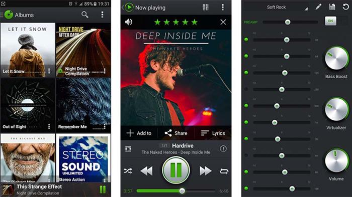 دانلود نرم افزار پخش موسیقی Five Brothers Music Player Pro