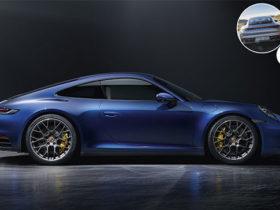 خودروی پورشه 911 Carrera S مدل 2020 با دوربین حرارتی دید در شب