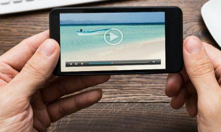 چطور یک ویدئو را در گوشی بچرخانیم؟