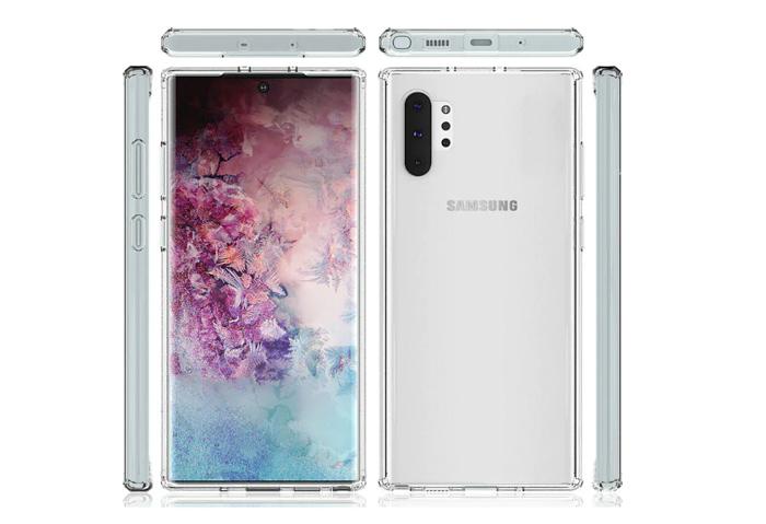 مشخصات گوشی های سامسونگ 2019 در مدل note 10